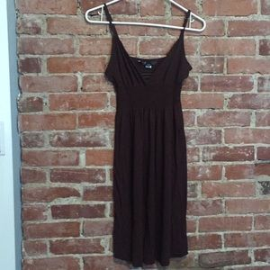 Body by Victoria brown empire waist sundress